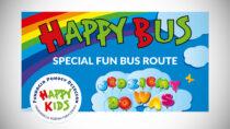 Bezpłatny mobilny plac zabaw dla dzieci – Happy Bus odwiedzi Wieluń