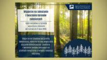 Posadź las iweź pieniądze – nabór wniosków dobiega końca