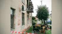 Pożar mieszkania przy ul.Częstochowskiej wWieluniu