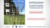 Szkolenie on-line: wszystko odotacjach dla rolnictwa