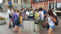 Uczniowie zSP wSkrzynnie iOkalewie zwiedzili Szlak Piastowski