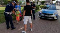 Działania wieluńskiej policji wzwiązku zwprowadzeniem tzw. czerwonej strefy