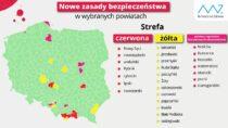 Powiat wieluński ciągle zdodatkowymi obostrzeniami