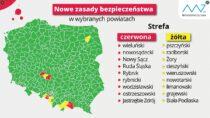 Powiat wieluński nadal zdodatkowymi obostrzeniami wtzw. czerwonej strefie