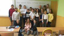 """Uczniowie SP wBieniądzicach uczestniczyli wnarodowym czytaniu """"Balladyny"""""""