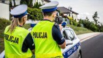 Wieluńska drogówka: 34 kontrole drogowe i22 wykroczenia związane zprędkością