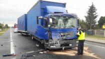 Mieszkaniec powiatu wieluńskiego zainicjował szereg kolizji drogowych
