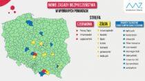 Powiat wieluński wychodzi zczerwonej strefy