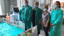 Wieluński szpital otrzymał respirator odMiasta iGminy Działoszyn
