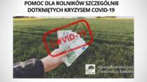 Nabór wniosków opomoc dla gospodarstw dotkniętych COVID-19 nafiniszu