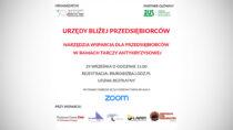 """Webinarium – """"Narzędzia wsparcia dla przedsiębiorców wramach Tarczy Antykryzysowej"""