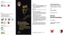 WWieluniu odbędą się uroczyste obchody 80-lecia Zbrodni Katyńskiej