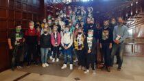 Uczniowie SP wSkrzynnie, Okalewie iJanowie zwiedzili zabytki Łodzi