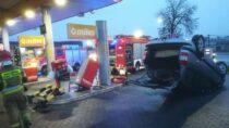Dachowanie nastacji benzynowej wWieluniu