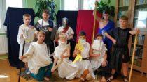 Uczniowie SP wOsjakowie spotkali się zbogami olimpijskimi