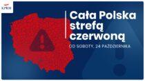 Czerwona strefa wcałej Polsce. Nowe obostrzenia