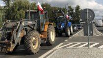 """Protest rolników wWieluniu przeciw """"Piątce dla zwierząt"""""""