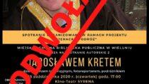 Spotkanie autorskie z Jarosławem Kretem – ODWOŁANE