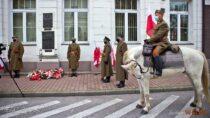 Wieluń uczcił 102. rocznicę odzyskania przezPolskę niepodległości