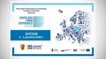Zaproszenie naEuropejskie Forum Gospodarcze – Łódzkie 2020