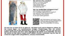 Niemiecka Policja prosi opomoc wustaleniu tożsamości kobiety