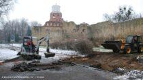 Wieluńskie muzeum prowadzi wykopaliska naul.Podwale wWieluniu