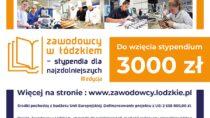 """""""Zawodowcy w Łódzkiem – stypendia dla najzdolniejszych. III edycja"""""""