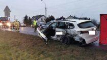 Śmiertelny wypadek wBiałej. Nieżyje 34-letni pasażer fiata