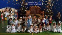 WSzkole Podstawowej wRudzie dzieci wystawiły bożonarodzeniowe jasełka