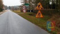 Trwa przebudowa drogi powiatowej nr4535E wmiejscowości Leniszki