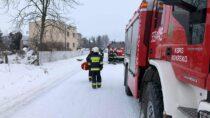 Jedna osoba poszkodowana podczas pożaru kotłowni wKrzyworzece