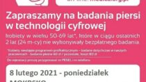 Bezpłatna mammografia w Mokrsku