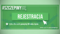 Odpiątku 15 stycznia rusza rejestracja naszczepienia dla seniorów 80+