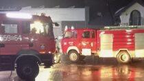 7 zastępów straży gasiło pożar przy ul.Wojska Polskiego wWieluniu