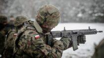 """""""Pętla taktyczna"""" kandydatów dosłużby w9 Łódzkiej Brygadzie Obrony Terytorialnej"""