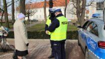 """Wieluńscy policjanci przeprowadzili działania """"Niechronieni uczestnicy ruchu drogowego"""""""