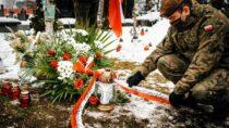 Terytorialsi uczcili pamięć żołnierzy AK iswojego patrona