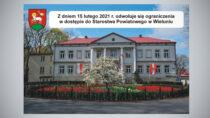 Starostwo Powiatowe wWieluniu od15 lutego dostępne dla interesantów