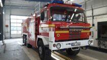 Strażacy zOSP Biała zakupili ciężki wóz bojowy TATRA 815 V12
