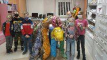 Dzień Dinozaura wFilii Bibliotecznej wTurowie
