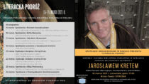"""Biblioteka miejska zaprasza na""""Literacką Podróż"""" ispotkanie zJarosławem Kretem"""