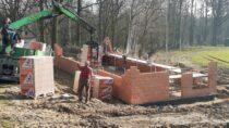WPątnowie nastadionie trwają prace budowlane