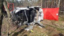 Śmiertelny wypadek natrasie Szynkielów-Stolec