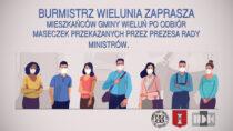Mieszkańcy Gminy Wieluń otrzymają maseczki ochronne