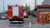 Kaufland: fałszywy alarm zmonitoringu przeciwpożarowego