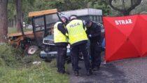 Śmiertelny wypadek wKątach Walichnowskich. Zginął 24-latek