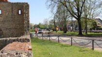Ulica Podwale wintensywnej przebudowie
