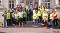 Rajdem rowerowym wieluńscy samorządowcy uczcili Dzień Samorządu Terytorialnego