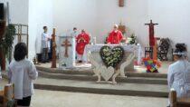 Rocznica IKomunii Świętej wparafii św.Barbary wWieluniu