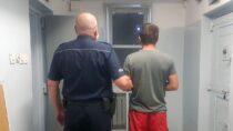 Poszukiwany 24-latek zatrzymany. Wpadł gdypijany jechał narowerze